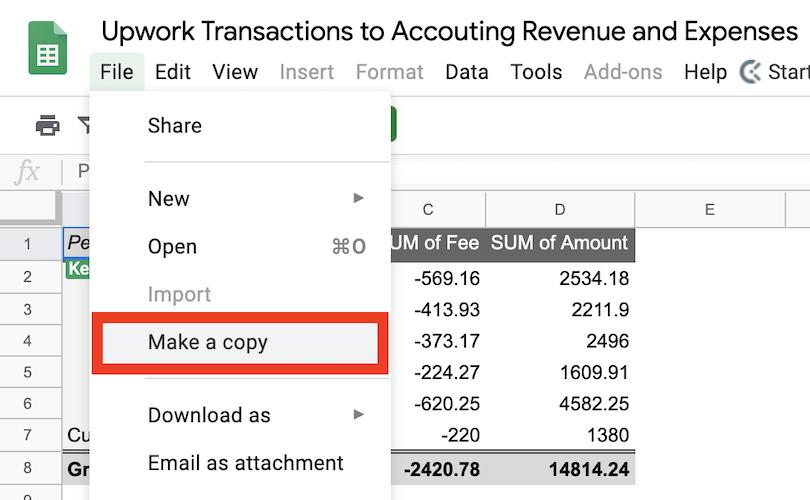 Calculate Upwork Revenue and Fees - Socratic Owl